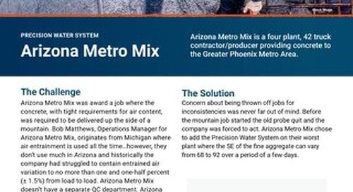 Arizona Metro Mix COMMANDbatch PWS Case Study