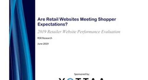Report: 2019 RSR Retail Website Performance Report