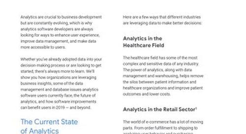 Understanding the Future of Analytics