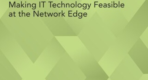Cloud Native for Telco: Making IT Technology Feasible at the Network Edge
