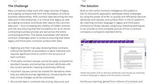 The ICI DiscoverAI Application