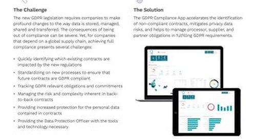 Solution Brief | ICM GDPR Compliance app