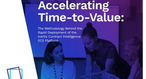 eBook | Accelerating Time-to-Value with Icertis