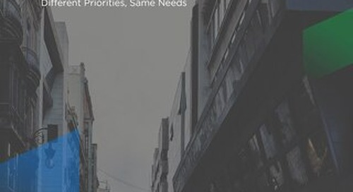 Different Priorities Same Needs eBook