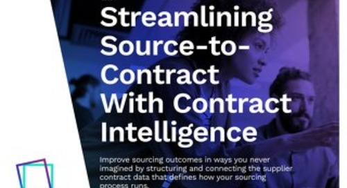 Contract-centric Sourcing: A New Paradigm