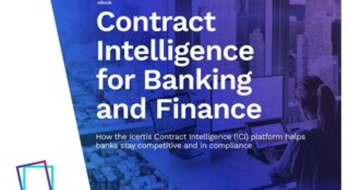 Enterprise Contract Management for Banking and Finance eBook