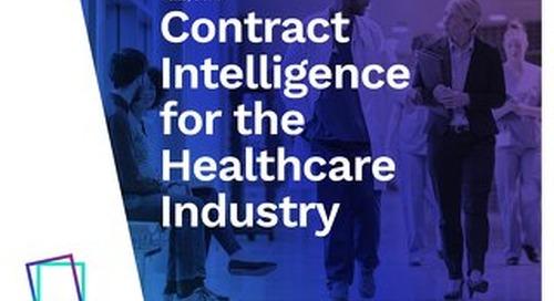 eBook | Enterprise Contract Management for Healthcare