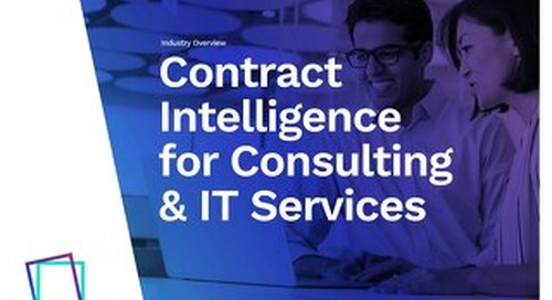 Icertis for Professional Services