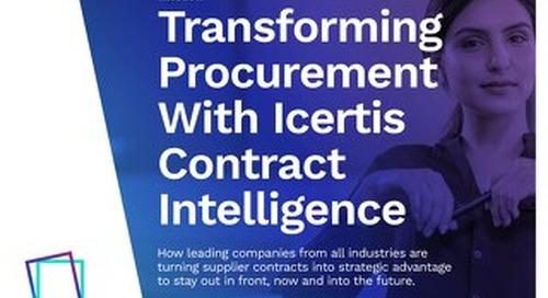 Transforming Procurement with ICM