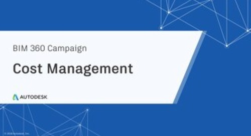 Cost Management Campaign