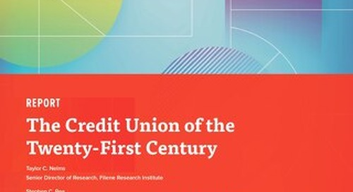 The Credit Union of the 21st Century