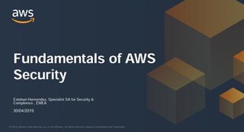 Fundamentals of AWS Security - Slides