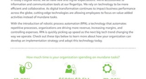 Tips from Tony - Robotic Process Automation