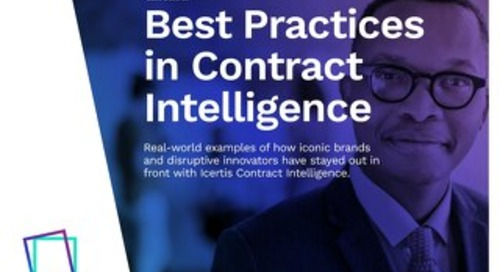 Best Practices in Contract Management