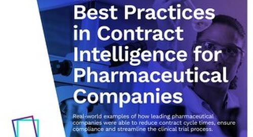 Best Practices | Contract Management Success Stories