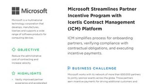 Case Study | Microsoft Partner Incentives