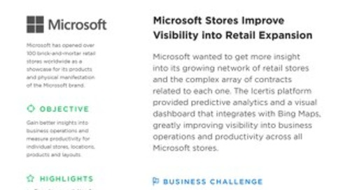 Microsoft Improves Visibility into Retail Expansion
