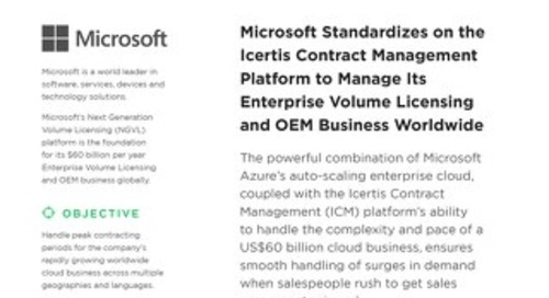 Microsoft Next Generation Volume Licensing case study
