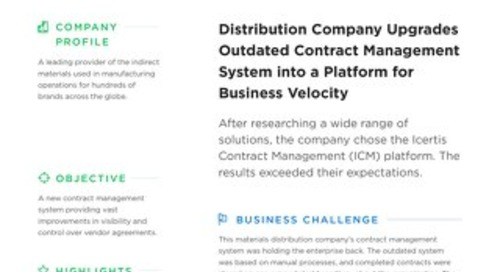 Distribution company case study