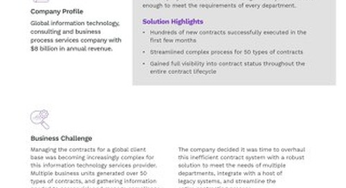 Leading IT Services Company Case Study