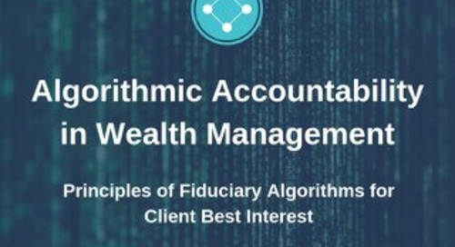 Algorithmic Accountability in Wealth Management - Univeris