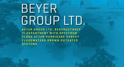 Beyer Group LTD Served Clients During Hurricane Harvey
