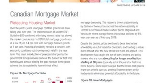 Mortgage Update 2019
