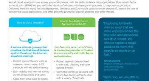 Cisco Umbrella & Duo Security