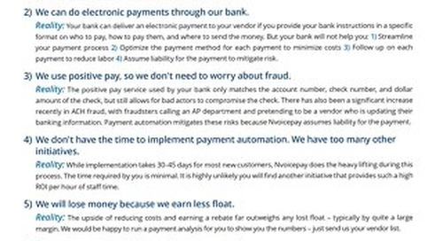 Top 7 Myths About Payment Automation