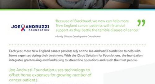 Customer Spotlight: Joe Andruzzi Foundation