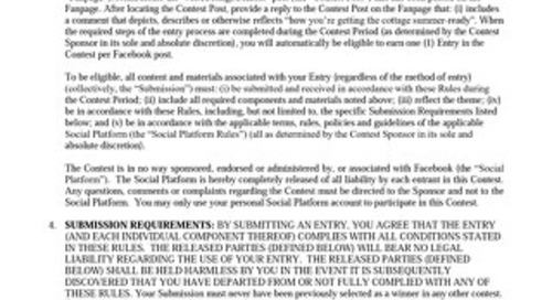 Rules and Regulations - 2019 contest