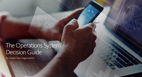 eBook: Operations System Guide for Health Plans