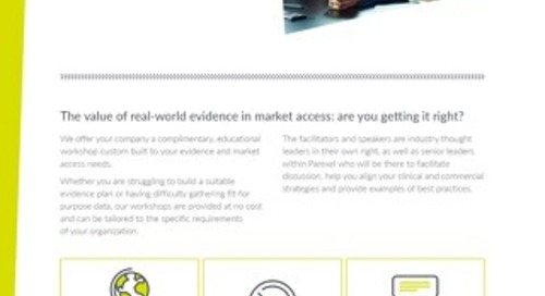 Tailored real-world evidence workshop