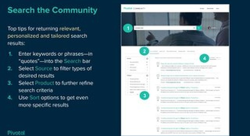 Support introduces unified search capabilities