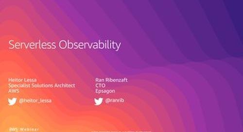 Serverless Observability - Slides