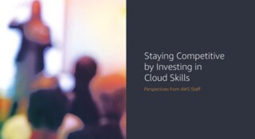 Ebook - Staying Competitive by Investing in Cloud Skills