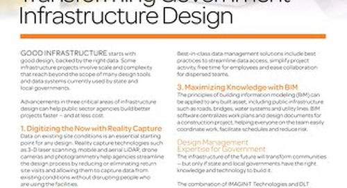 Transforming Government Infrastructure Design