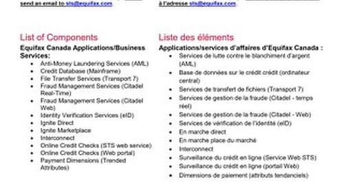 Equifax Statuspage Guide / Guide Statuspage Equifax - EN/FR