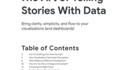 The Art of Telling Stories with Data