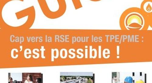Cap vers la RSE : Guide pratique pour les TPE/PME