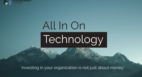 ROI of Technology for Community Foundations