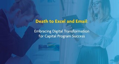 Capital Program Process: Pushing Through to the Age of Digital