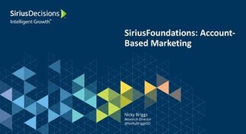 SiriusFoundations: Account-Based Marketing