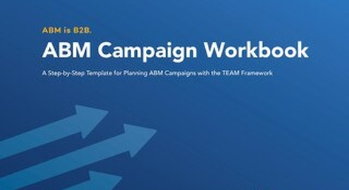 ABM is B2B-The Official Campaign Workbook
