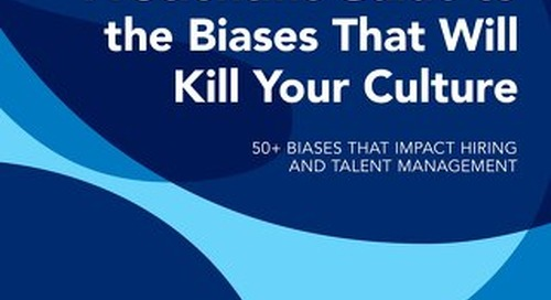 A Scientific Guide to Biases That Will Kill Culture