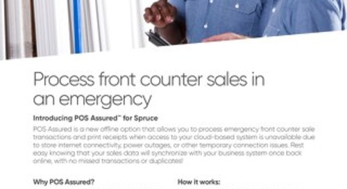 Spruce POS Assured Solution Brief