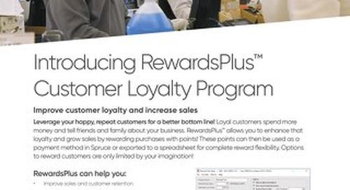 Spruce RewardsPlus