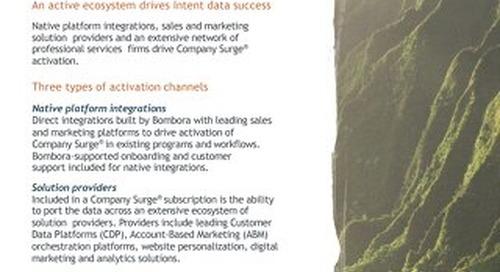 Activation ecosystem