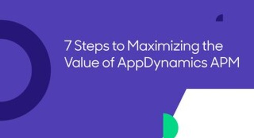 7 Steps to Maximizing the Value of AppDynamics