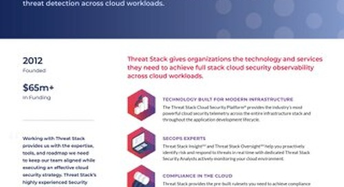 Threat Stack Corporate Overview